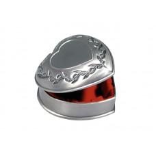 Dacapo smyckeskrin - hjärta med gravyrplåt