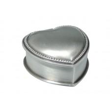 Dacapo smyckeskrin - hjärta med pärlkant