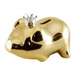 Dacapo Sparbössa - Gris förgylld med Guld