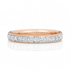 Rose Guld Diamant Ring 0,26 ct
